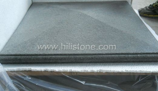 G684 Black Flamed/Brushed Coping Stone