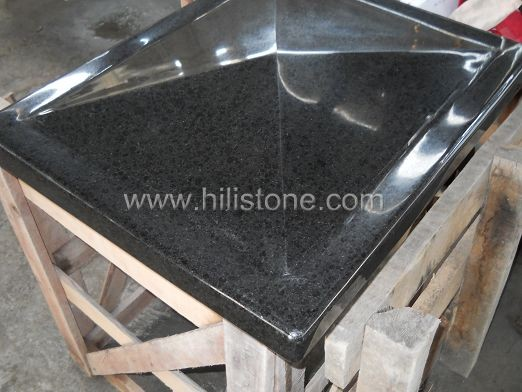 G684 Black Polished Coping Stone