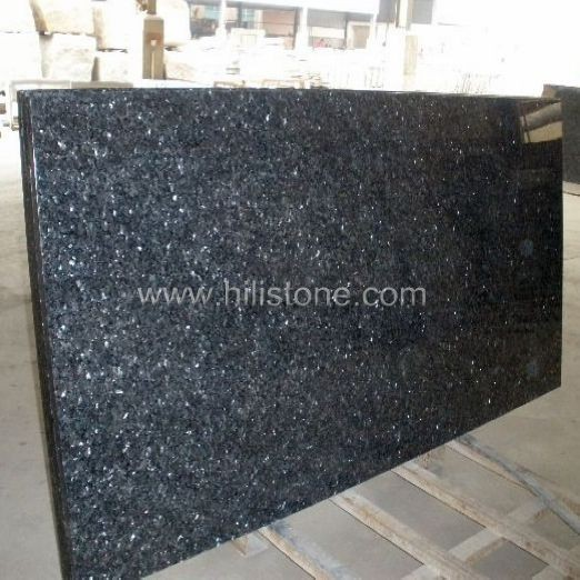 Blue Pearl Granite Countertop - Ogee Edge