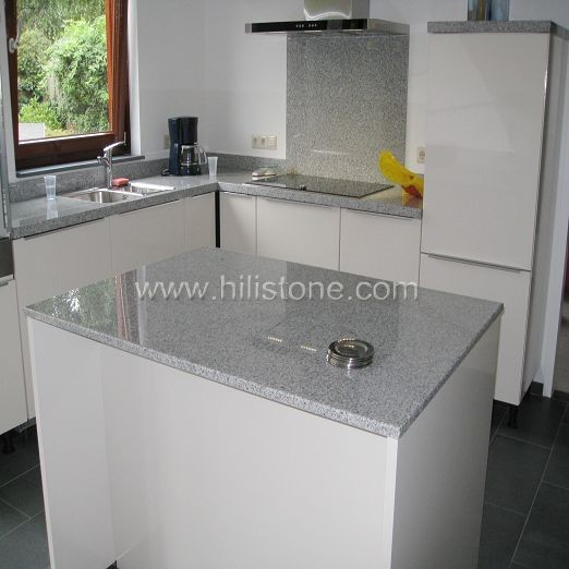 G603 Granite Countertop - Laminated Straight Edge