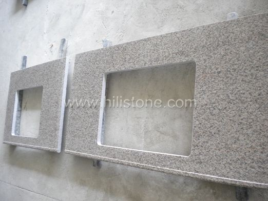 G623 Granite Countertop - Front Water Stopper