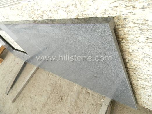 G654 Granite Countertop - Laminated Straight Edge