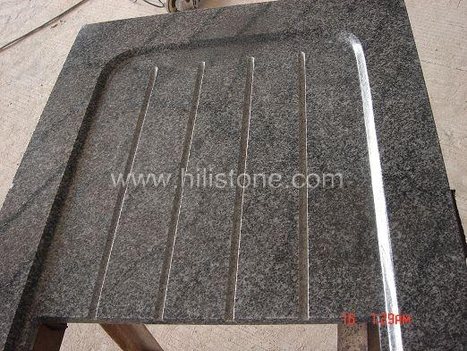 G654 Impala Granite Countertop - Concave area