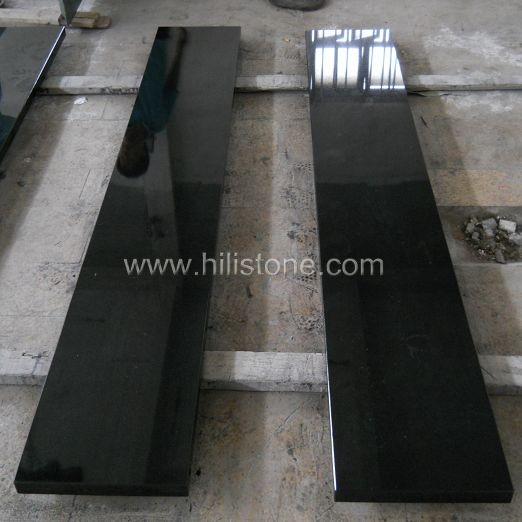 Shanxi Black Polished Countertop - Flat edge
