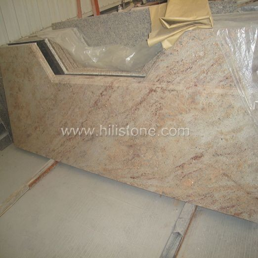 Shivakasi India Granite Countertop - Ogee Edge