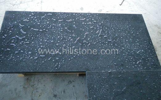 G654 Blue Black Polished Countertop - Flat Edge