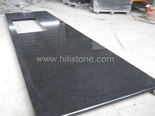 G684 Black Countertop - Laminated Bullnose