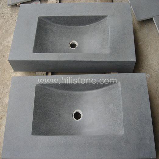 Basalt Honed Stone Sink