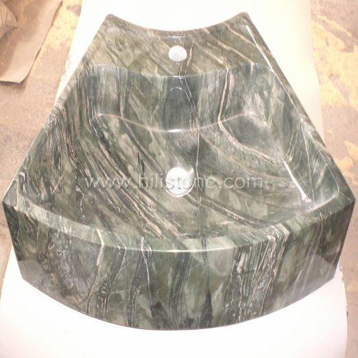Dragon Jade Marble Polished Stone Sink