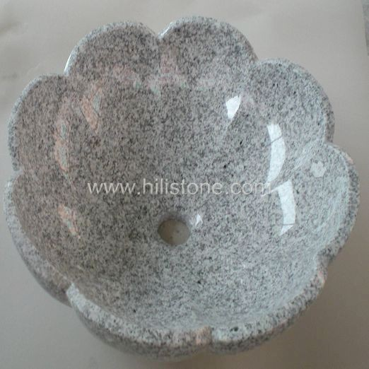 G603 Silver Grey Granite Polished Stone Sink