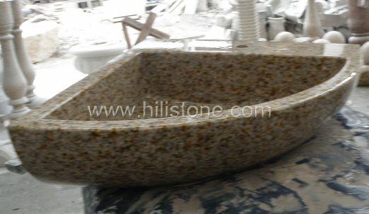 G682 Yellow Granite Polished Stone Sink