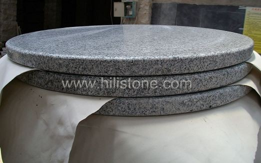 G603 Granite Polished Table top - Round