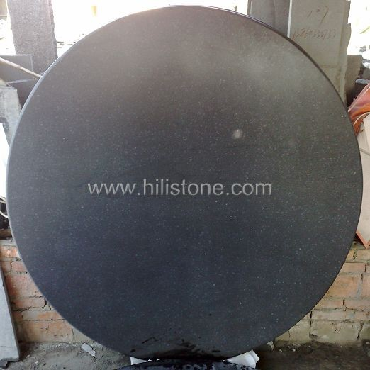 G684 Black Honed Table top - Round