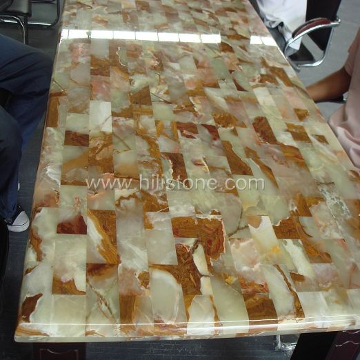 Jade Polished Table top - Rectangular
