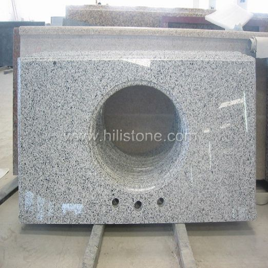 Grey Granite Polished Vanity Top