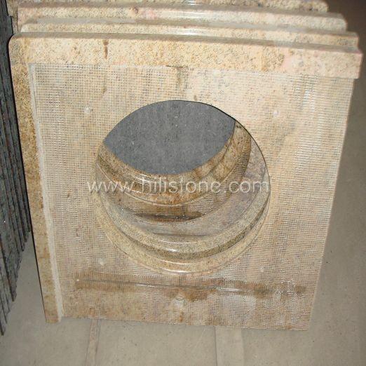 Kashmir Gold Polished Granite Vanity Top