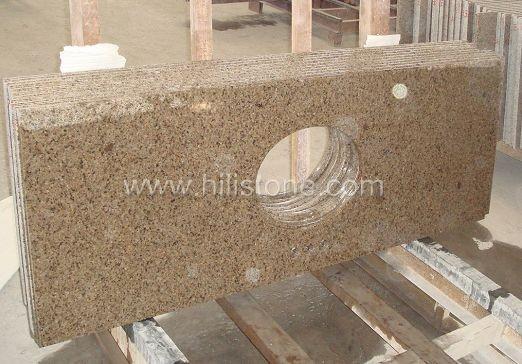 Tropic Brown Granite Polished Vanity Top