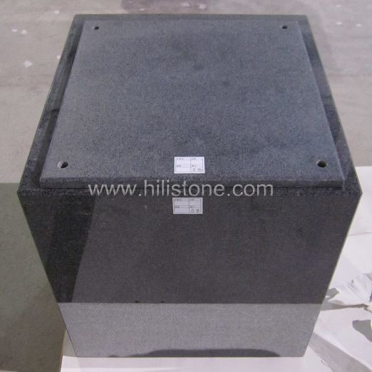 G654 Blue Black Granite Polished Stone Box