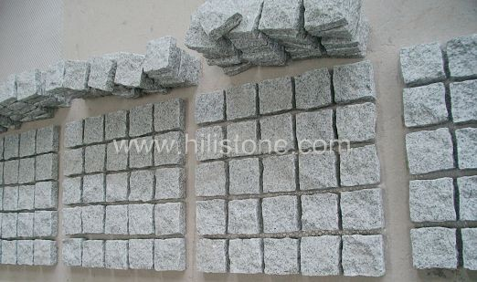 G603 Cobblestone on Mesh-Flamed-Square Shape
