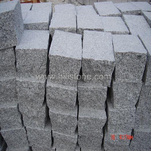 G603 Grey Granite Flamed Cobblestone