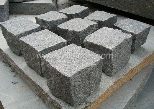 G654 Granite All Sides Natural Cobblestone