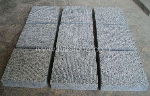 G654 Granite Chiselled Natural Cobblestone
