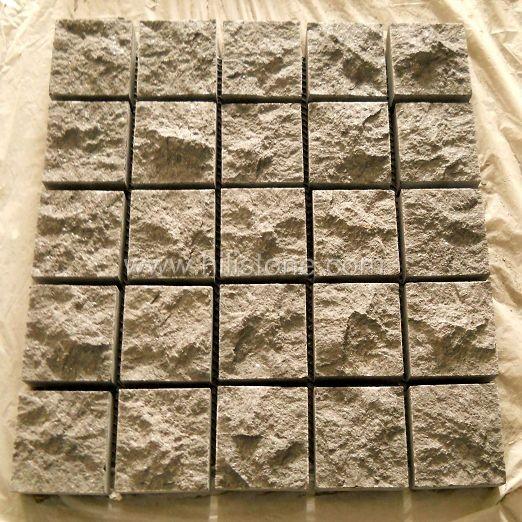 G684 Cobblestone on Mesh-Nautral-Square Shape