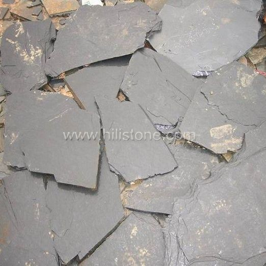 Black Slate Crazy Paving