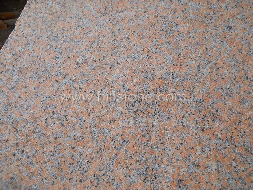 G562 Maple Red Bush-hammered Paving Stone