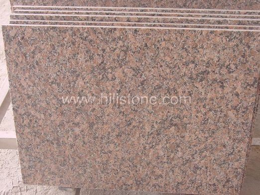 G562 Maple Red Flamed Paving Stone