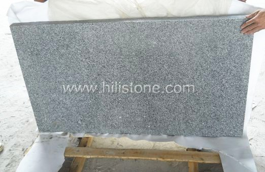 G603 Silver Grey Granite Flamed Paving Stone