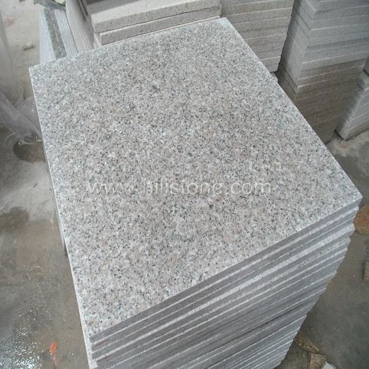 G636 Pink Granite Flamed Paving Stone