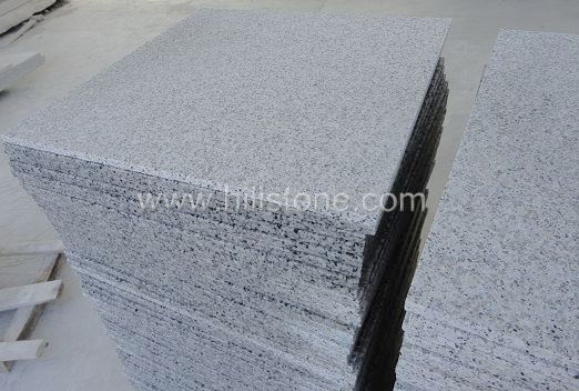 G640 Grey Granite Flamed Paving Stone