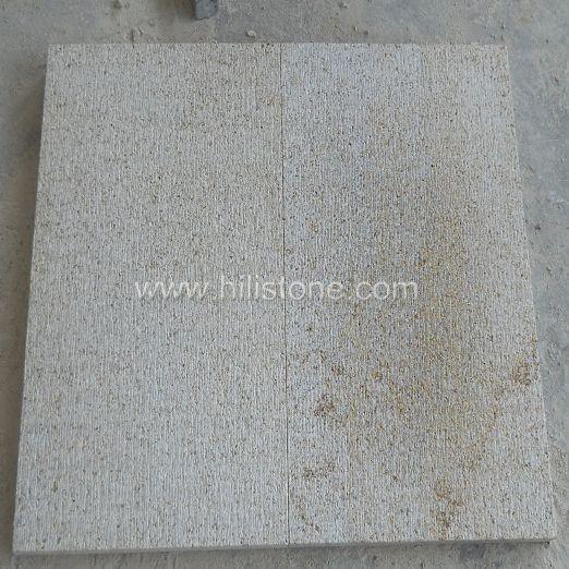 G682 Yellow Granite Chiselled Paving Stone