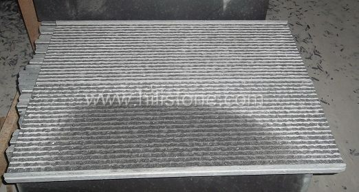 G684 Black Paving Stone - Natural + Grooves