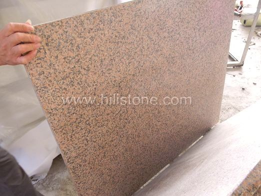 Tianshan Red Granite Flamed Paving Stone