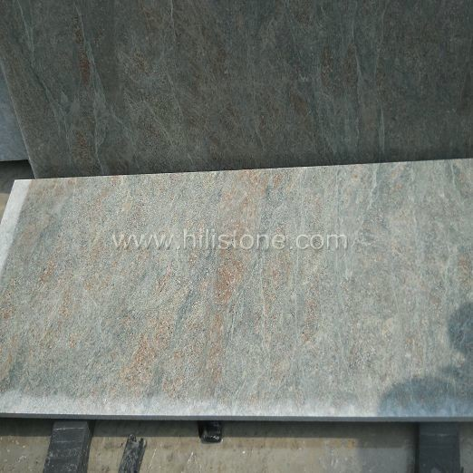 Wave Green Granite Flamed Paving Stone