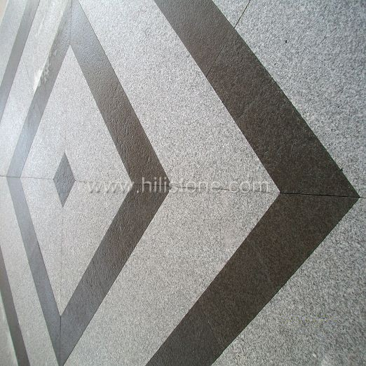 G603+G684 Granite Pattern - Square Shape
