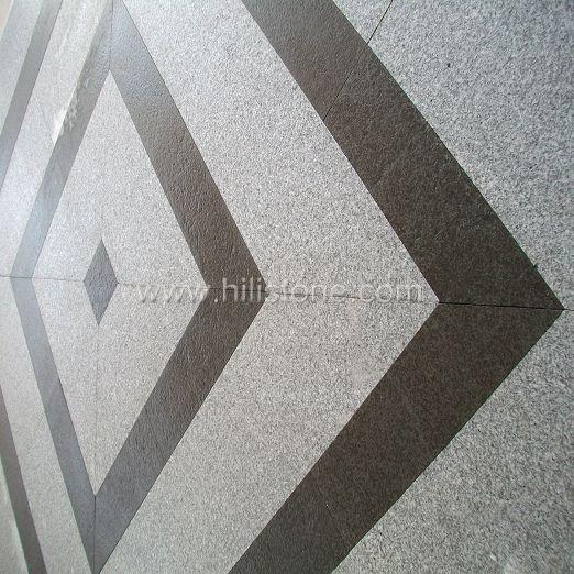 G603+G684 Granite Pattern - Square Shape