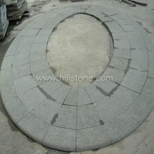 G612 Granite Pattern - Round Shape
