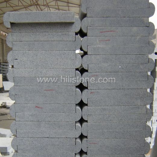 G654 Blue Black Swimming Pool Coping Stones