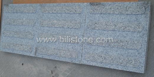 G603 Grey Granite Flamed Tactile Paving-Directinal