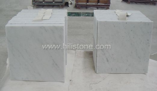 Carrara Bianco Marble Polished Tiles