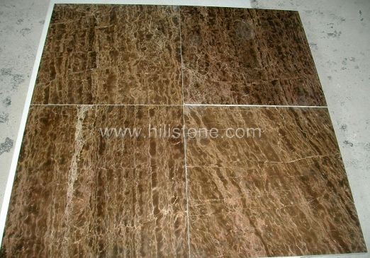 Coffee Marble Polished Tiles