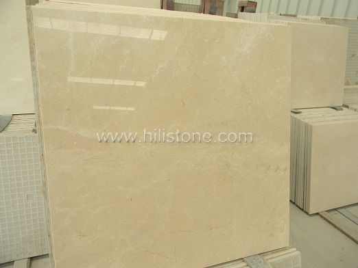 Cream Marfil Marble Polished Tiles
