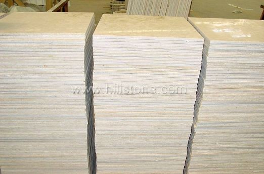 Egypt Cream Marble Polished Tiles
