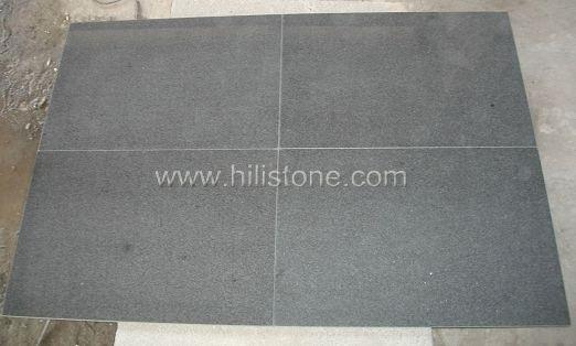 G654 Blue Black Granite Polished Tiles