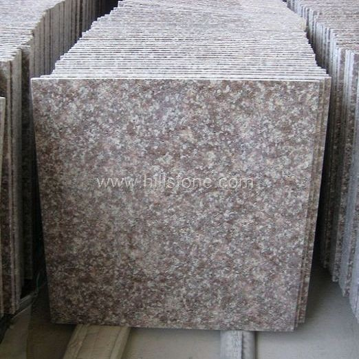 G687 Pink Granite Polished Tiles