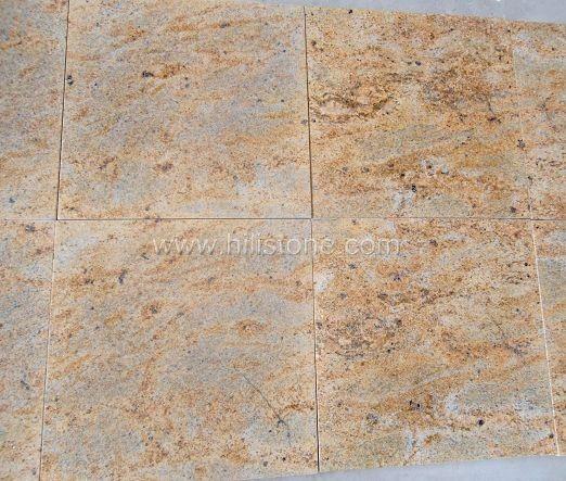 Kashmir Gold Granite Polished Tiles