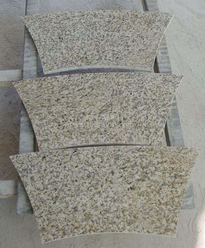 Tiger Yellow Granite Polished Tiles